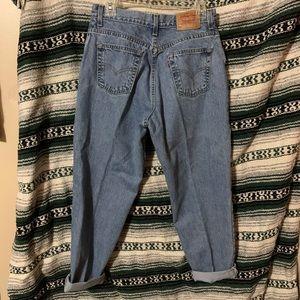 Vintage Levi 550's Light wash 14 P Women's Jeans